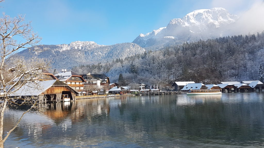 Carina´s favorite picture from the Bavarian Alps: the Königsee