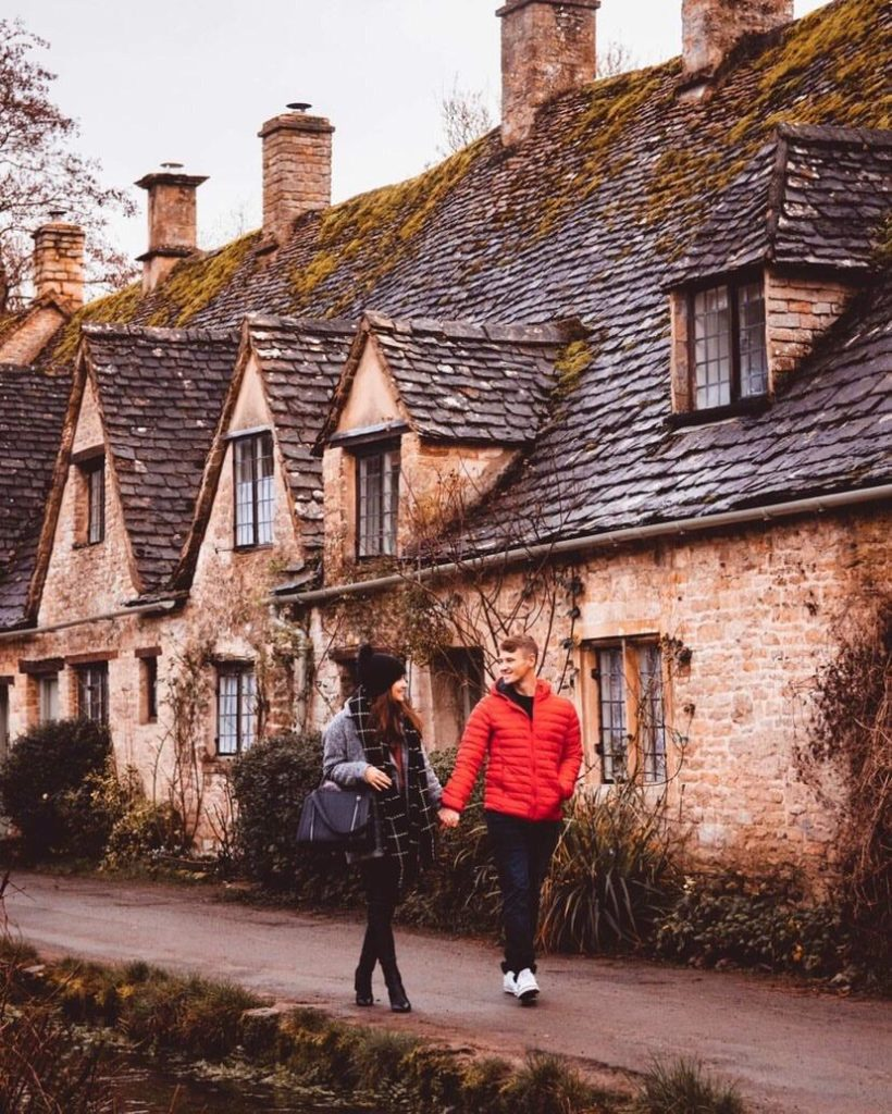 Jack and Becky´s favorite picture from Cotswolds: definitely couple goals!