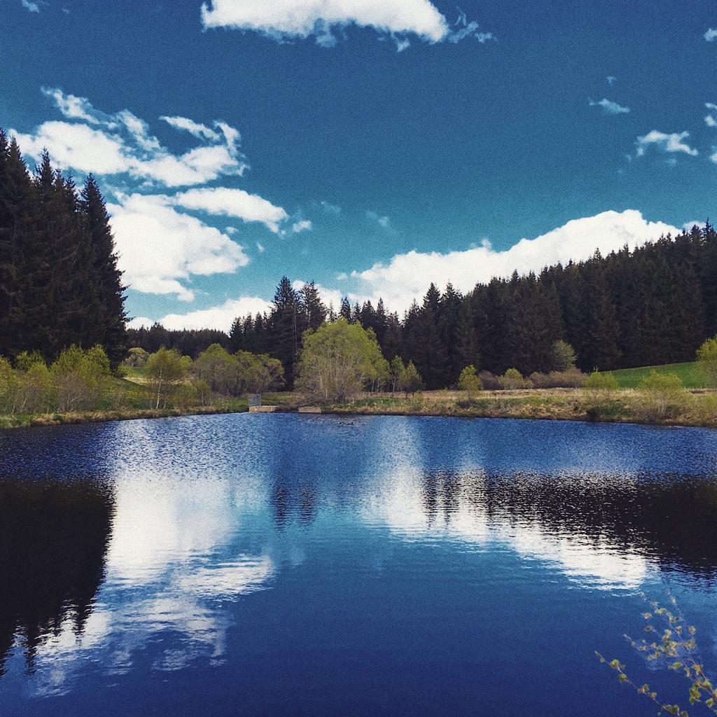 Diesen wunderschönen kleinen See haben wir gefunden, als wir nach Sehenswürdigkeiten in der Gegend geschaut haben und er ist definitiv mehr als einen Besuch wert.